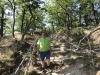 Thomas Greve auf der Wanderung zur Roßtrappe