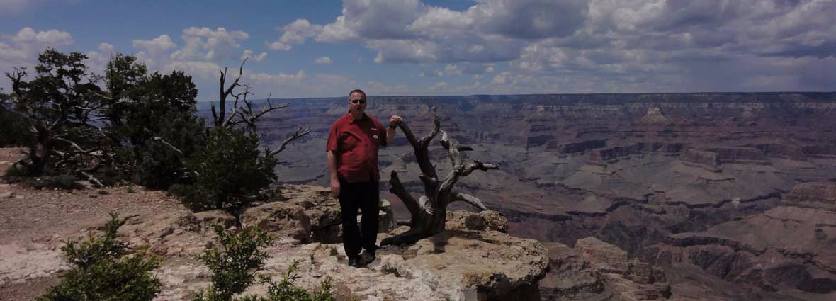 Thomas Greve am Grand Canyon 2015