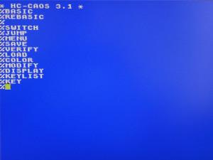 KC85/3; HC-CAOS 3.1
