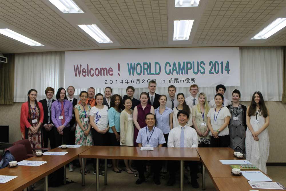 WCJ Arao June 20th 2014-Mayor visit