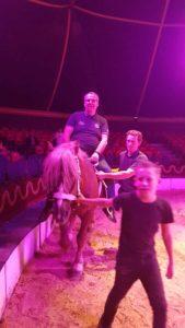 Thomas Greve zum ersten Mal als Reiter